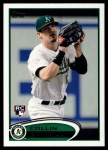 2012 Topps #502  Collin Cowgill  Front Thumbnail