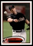 2012 Topps #515  Willie Bloomquist  Front Thumbnail