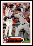 2012 Topps #603  Lonnie Chisenhall  Front Thumbnail