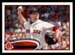2012 Topps #648  Josh Beckett  Front Thumbnail