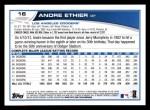 2013 Topps #16  Andre Ethier   Back Thumbnail