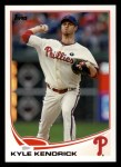 2013 Topps #71  Kyle Kendrick   Front Thumbnail