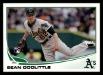 2013 Topps #85  Sean Doolittle   Front Thumbnail