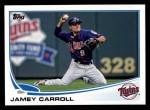 2013 Topps #88  Jamey Carroll   Front Thumbnail