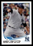 2013 Topps #90  Andy Pettitte   Front Thumbnail