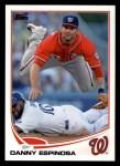 2013 Topps #97  Danny Espinosa   Front Thumbnail