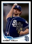2013 Topps #111  Casey Kelly   Front Thumbnail