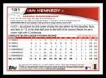 2013 Topps #131  Ian Kennedy   Back Thumbnail