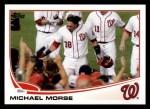 2013 Topps #138  Michael Morse   Front Thumbnail