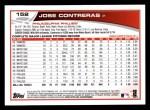 2013 Topps #152  Jose Contreras   Back Thumbnail