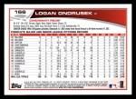 2013 Topps #166  Logan Ondrusek   Back Thumbnail