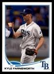 2013 Topps #168  Kyle Farnsworth   Front Thumbnail