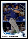 2013 Topps #177  Elliot Johnson   Front Thumbnail
