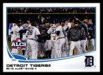 2013 Topps #179  Detroit Tigers   Front Thumbnail