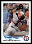 2013 Topps #184  Geovany Soto   Front Thumbnail