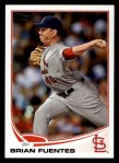 2013 Topps #188  Brian Fuentes   Front Thumbnail