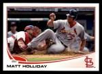 2013 Topps #207  Matt Holliday   Front Thumbnail