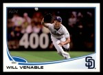 2013 Topps #225  Will Venable   Front Thumbnail