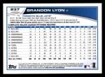 2013 Topps #237  Brandon Lyon   Back Thumbnail