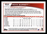 2013 Topps #254  Sean Burnett   Back Thumbnail
