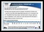 2013 Topps #286  Jurickson Profar   Back Thumbnail