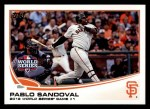 2013 Topps #298  Pablo Sandoval   Front Thumbnail
