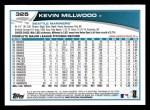 2013 Topps #325  Kevin Millwood   Back Thumbnail