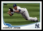 2013 Topps #326  Andruw Jones   Front Thumbnail