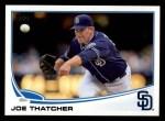 2013 Topps #445  Joe Thatcher  Front Thumbnail