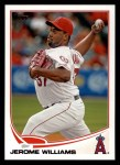 2013 Topps #466  Jerome Williams  Front Thumbnail