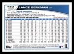 2013 Topps #480  Lance Berkman  Back Thumbnail