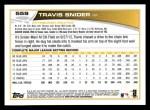 2013 Topps #559  Travis Snider  Back Thumbnail