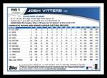 2013 Topps #561  Josh Vitters  Back Thumbnail