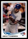 2013 Topps #571  Melky Cabrera  Front Thumbnail