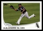 2013 Topps #583  Alejandro De Aza  Front Thumbnail
