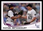 2013 Topps #604  Rafael Betancourt  Front Thumbnail