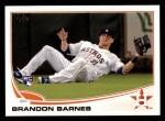 2013 Topps #654  Brandon Barnes  Front Thumbnail