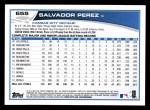 2013 Topps #655  Salvador Perez  Back Thumbnail