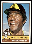 1976 Topps #265  Willie Davis  Front Thumbnail