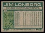 1977 Topps #569  Jim Lonborg  Back Thumbnail