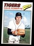 1977 Topps #363  Dave Roberts  Front Thumbnail