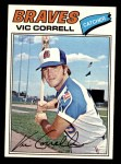 1977 Topps #364  Vic Correll  Front Thumbnail