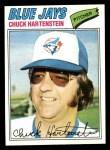 1977 Topps #416  Chuck Hartenstein  Front Thumbnail