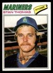 1977 Topps #353  Stan Thomas  Front Thumbnail