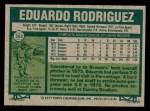 1977 Topps #361  Eduardo Rodriguez  Back Thumbnail