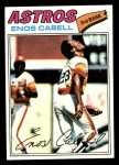 1977 Topps #567  Enos Cabell  Front Thumbnail