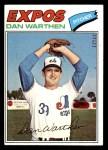 1977 Topps #391  Dan Warthen  Front Thumbnail