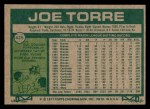 1977 Topps #425  Joe Torre  Back Thumbnail
