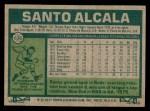 1977 Topps #636  Santo Alcala  Back Thumbnail