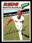 1977 Topps #636  Santo Alcala  Front Thumbnail